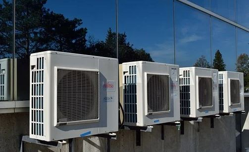 Air conditioners produce water condensates